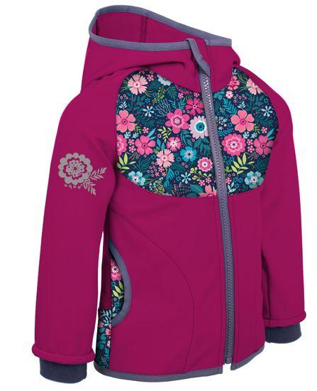 Unuo Rože dekliška softshell jakna, nepodložena