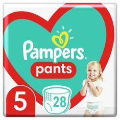 Pampers pieluchomajtki Pants rozmiar 5, 28 szt., 12kg-17kg, białe 5