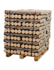 BIOLES HORIZONT PALETA 96 KOM lesnih briketov v PVC 10kg