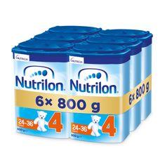 Nutrilon 4 batolecí mléko 6x 800g, 24+