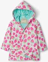 Hatley dievčenská nepremokavá bunda do dažďa Delicious Berries S21FSK1336 92 ružová