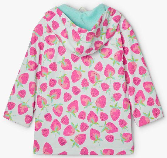 Hatley dievčenská nepremokavá bunda do dažďa Delicious Berries S21FSK1336