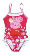 Disney Lány egyrészes fürdőruha Peppa Pig PP13455_1, 116 - 122, rózsaszín