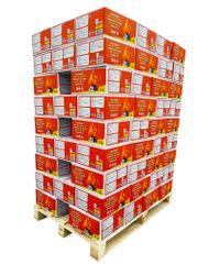 BIOLES HORIZONT PALETA 90 KOM lesnih briketov v kartonu 10kg
