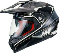 MAXX FS 606 Enduro helma se sluneční clonou, XXL