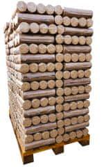 GREENHEAT PALETA 96 KOM lesnih briketov Greenheat Premium PVC 10kg