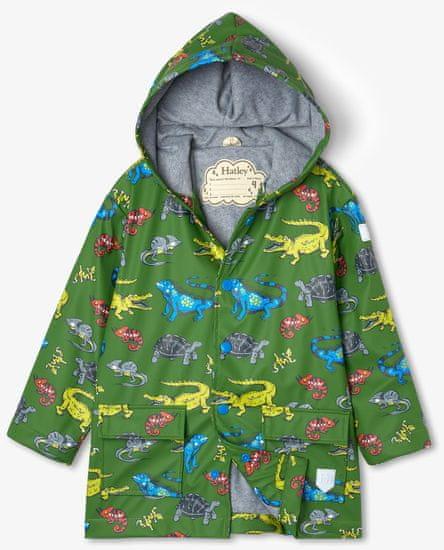 Hatley chlapčenská nepremokavá bunda do dažďa Aquatic Reptiles S21REK1336