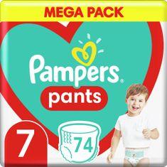 Pampers Bugyipelenka Pants 7-es méret, 74 db, 17kg+