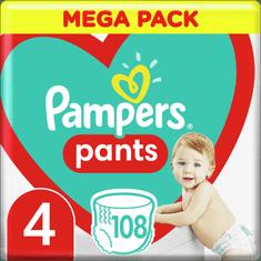 Pampers Pants hlačne plenice, Velikost 4, 9–15 kg, 108 kosov