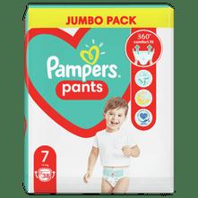 Pampers Pants hlačne plenice, Velikost 7, 17 kg+, 38 kosov