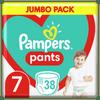 Pampers Plenkové Kalhotky Pants Velikost 7, 38 ks, 17kg+