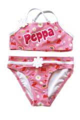 Disney Lány kétrészes fürdőruha Peppa Pig PP13456, 98 - 104, rózsaszín