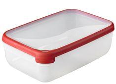 Curver posoda za shranjevanje hrane Grand Chef, nižja, 4 l, rdeč