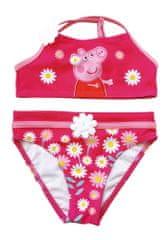 Disney Lány kétrészes fürdőruha Peppa Pig PP13456_1, 98 - 104, rózsaszín