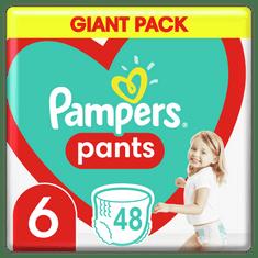Pampers Plienkové nohavičky Pants Veľkosť 6, 48 ks, 15kg+