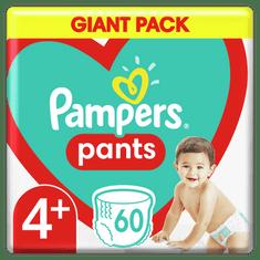 Pampers pieluchomajtki Pants rozmiar 4+, 60 szt.
