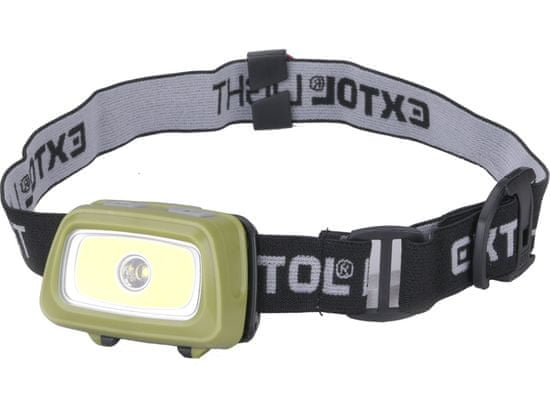 Extol Light čelovka 250lm+250lm