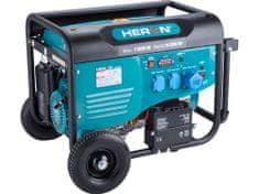 Heron elektrocentrála benzínová 7,0kW/15HP, pro svařování, elektrický start, podvozek