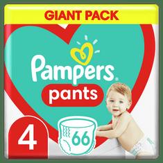 Pampers Pants hlačne plenice, Velikost 4, 9–15 kg, 66 kosov