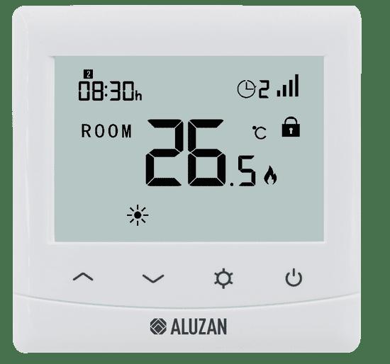 Aluzan EB-160 WiFi - pre ovládanie kotlov aj elektrického vykurovania do 16A