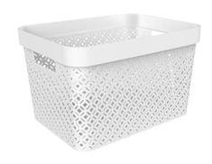 Curver škatla za shranjevanje Terrazzo, L, bela