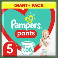 Pampers pieluchomajtki Pants rozmiar 5, 66 szt., 12kg-17kg
