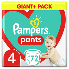 Pampers Pants hlačne plenice, Velikost 4, 9–15 kg, 72 kosov