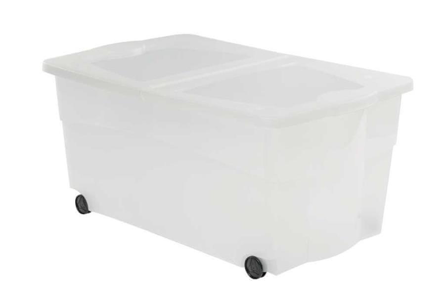 Curver Multiboxx s kolečky transparentní 100 l