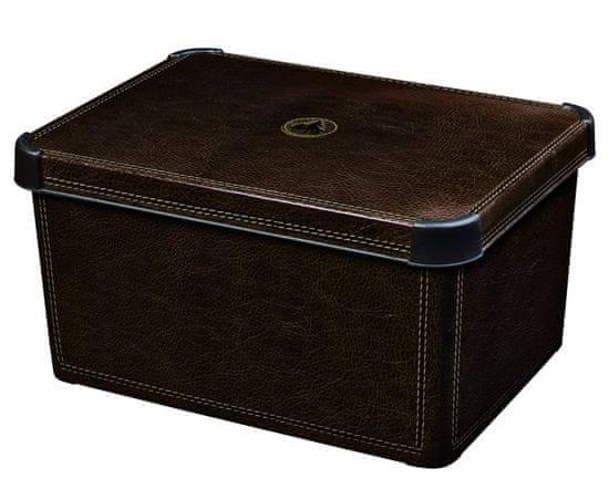 CURVER pudełko do przechowywania S skórzane