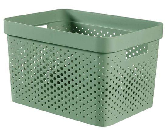 CURVER pudełko INFINITY 17 l recyklingowane tworzywo sztuczne zielone