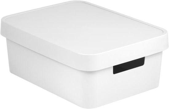 CURVER pudełko INFINITY 11l z pokrywą białe