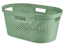 Curver Infinity košara za čisto perilo, 39 l, zelena