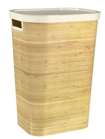 CURVER košara za prljavo rublje Infinity Bambus 59 l