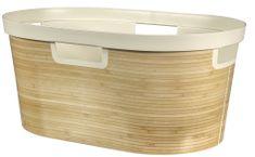 Curver košara za čisto perilo Infinity Bambus 39 l