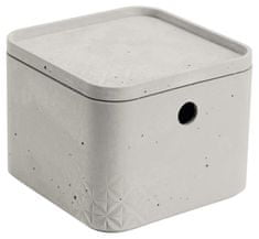 Curver úložný box beton XS s víkem