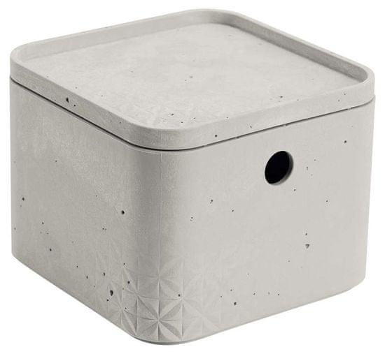 CURVER pudełko box beton XS z pokrywką