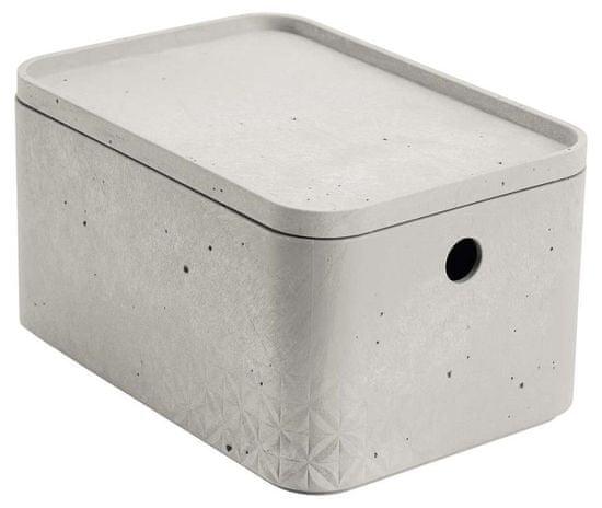 Curver Beton škatla za shranjevanje s pokrovom S