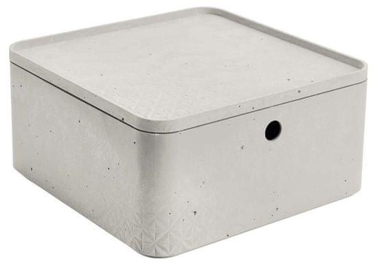 Curver Beton škatla za shranjevanje s pokrovom L