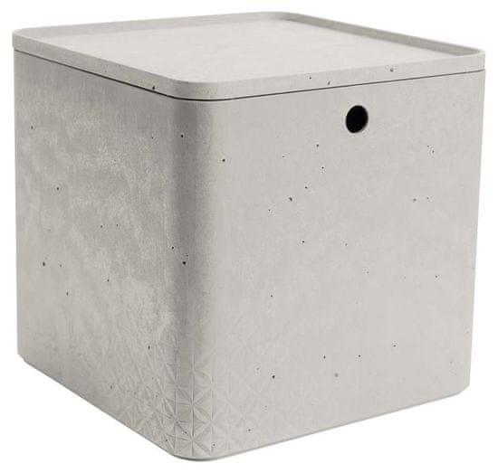 CURVER pudełko box beton XL z pokrywką