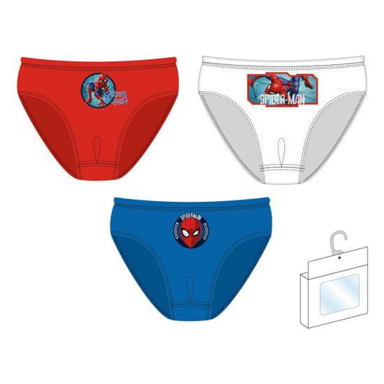 Disney SM13505 Spiderman fantovske spodnjice, trojno pakiranje