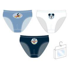 Disney Fiú alsónadrág Mickey Mouse 3pack WD13598, 98 - 104, kék