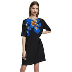 Desigual Ženska obleka Telovnik Pistilo Negro 20SWVW47 2000 (Velikost 38)