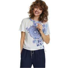 Desigual Ženska majica Ts Bruselas Blanco 20SWTKA3 1000 (Velikost XS)