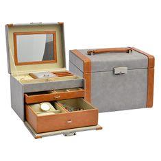 Jan KOS Dizajn siva škatla za nakit SP-8070 / A3 / A7