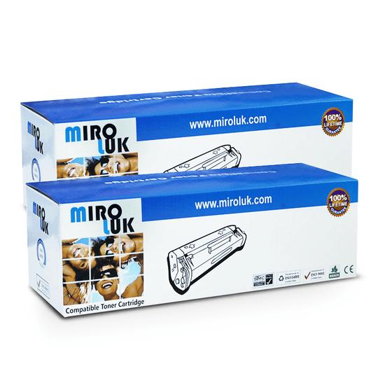 Miroluk Toner pre HP LaserJet Pro MFP M 120 kompatibilná (2× čierna - black)