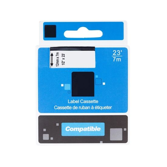 Miroluk Páska pre DYMO LabelManager 100 kompatibilná (čierna - black)