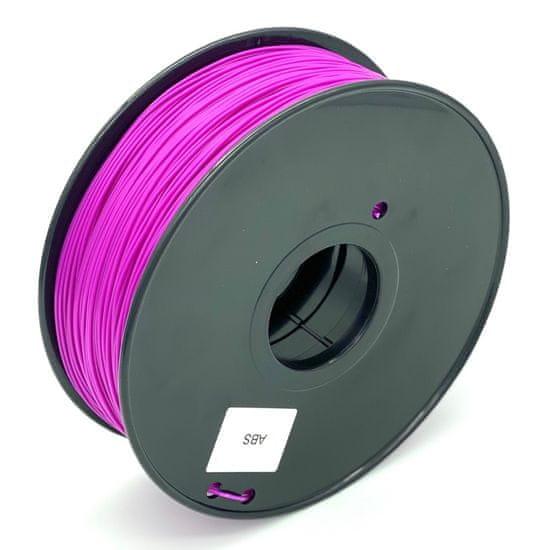 Miroluk Tlačová struna ABS pre 3D tlačiarne, 1,75mm, 1kg, fialová