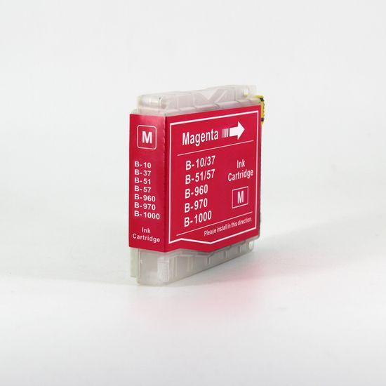 Miroluk Atramentová náplň pre BROTHER MFC 660 CN kompatibilná (purpurová - magenta)