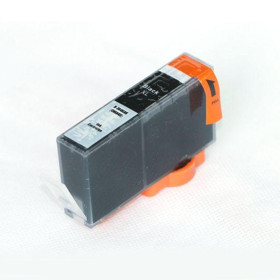 Miroluk Atramentová náplň pre HP Photosmart B 8553 kompatibilná (čierna - black)
