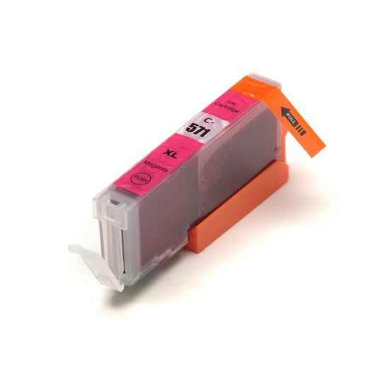 Miroluk Atramentová náplň pre Canon Pixma MG 7751 kompatibilná (purpurová - magenta)